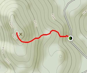Ormes Peak East Face Map