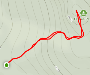 Ormes Peak Trail Map
