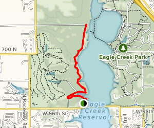 Eagle's  Crest Trail Map