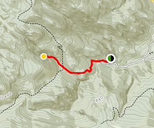 Cisneros Trail Map