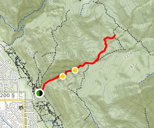 Battle Creek Falls Trail Map