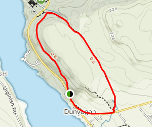Dunvegan Two Churches Walk Map