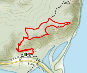 Eagle Rock, Fire Point and Little Bear Mound Group Loop Map