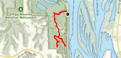Marching Bear Group and Founder's Pond Overlook Map