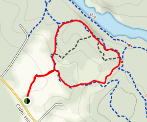 Highland Farm Preserve Loop Map