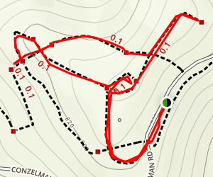 Hawk Hill Map