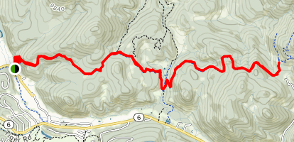 North and Middle Forks of the Swan River Map