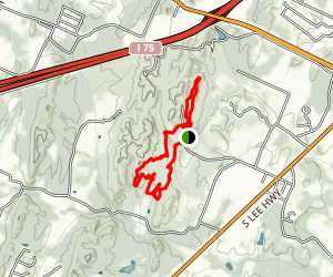 Johnson's Woods Trail Map