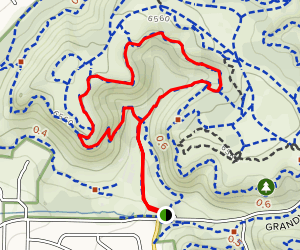 Edna Mae Bennet Nature Trail Loop Map