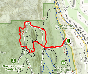 Gateway and Susan G. Bretag Trail from the Visitor Center Map
