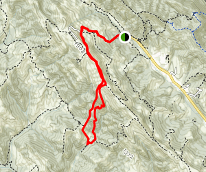 Rocky Ridge Loop to Sycamore Trail  Map