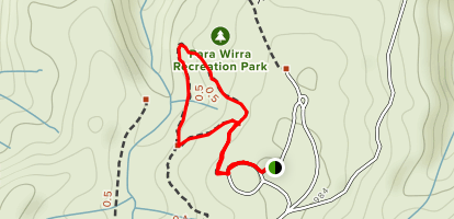 Lizard Rock Nature Walk Map