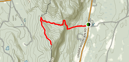 Race Brook Trail to Mount Race Map