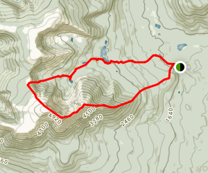 Katahdin Loop Trail Map