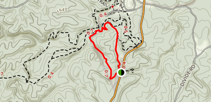 Hazard Cave Trail  Map