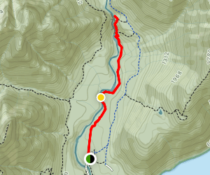 Gold Creek Falls Trail Map
