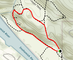 River View Quarry Road Loop  Map