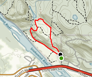 River View Quarry Road to Quarry Trail Loop Map