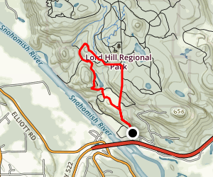 RIver Quarry Road, Quarry, River, and Pipeline Trail  Map