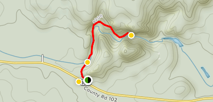 Paradise Cove Swimming Hole Trail Map
