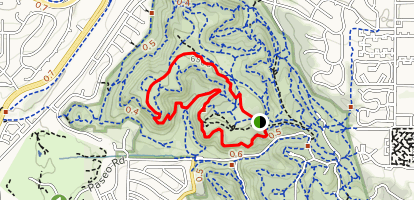 Mesa and Edna Mae Bennet Nature Trail Loop Map