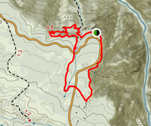 Uplands Trail to Rim Rock Nature Trail Loop Map