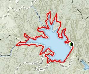 Rampart Reservoir Trail Map