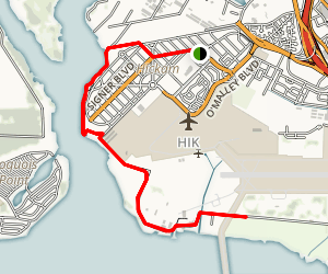 Hickam Waterfront Map