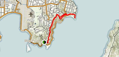 Ataturk Memorial and Breaker Bay via Eastern Walkway Map