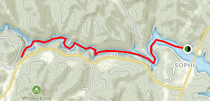 Clifty Falls Paddle Trail Map