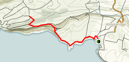Tyneham via Kimmeridge Map