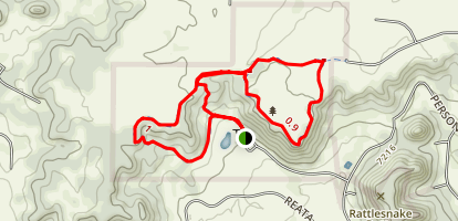 Homestead Ranch Outer Loop Map