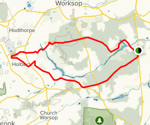 Creswell Crags Map