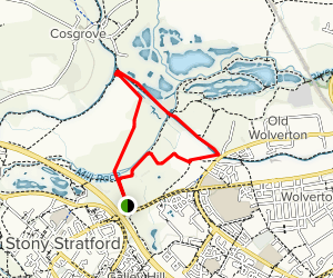 Wolverton Mill Loop Map