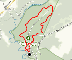 Lynches River Loop  Map