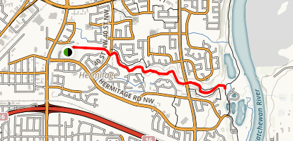 Kennedale Ravine Trail Map