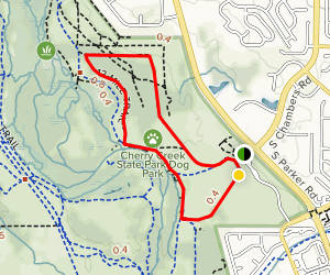 12 Mile Trail and Cherry Creek Loop Map
