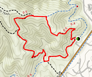 Green Mountain and Hayden Trail Loop Map