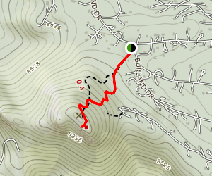 Mount Bailey Trail Map