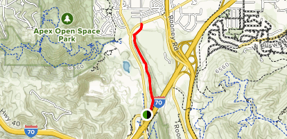 Rooney Road Sports Complex Trail  Map
