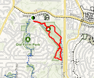 Chaparral Trail Map