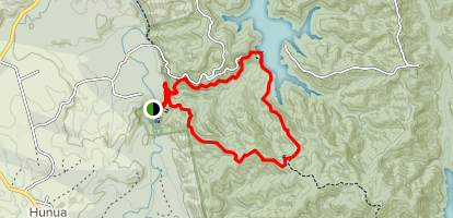 Cossey Gorge and Massey Loop Map