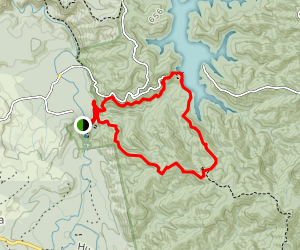 Cossey Gorge and Massey Loop {CLOSED} Map