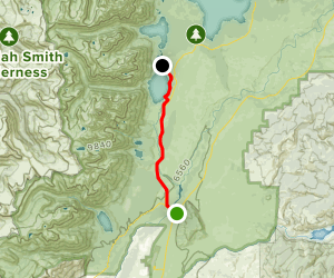 Grand Teton National Park Pathway Map