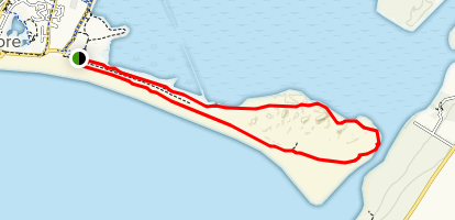Tramore Strand Loop  Map