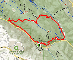 Golden Spike, Tate, Orchard, and Bridle Loop Map