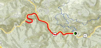 Peaks to Plains Trail Map