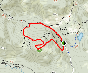 Phoebes Nable Mountain Trail Loop Map
