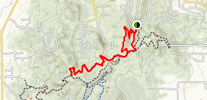Timber Riders Trail Loop Map