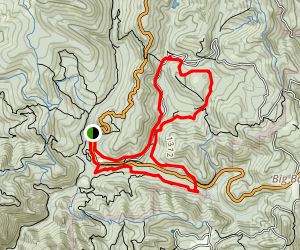 East Ridge, Shadowbrook, and Sequoia Trail Loop  Map